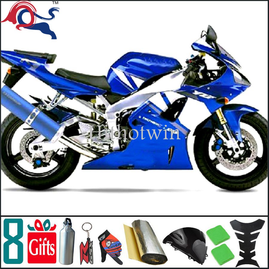 2000 2001 YZFR1 blue Motorcycle Plastic ABS <strong>Fairings</strong> For yamaha YZFR1 2000 2001 <strong>Fairing</strong> Fit YZF <strong>R1</strong> 2000 2001 YZF-<strong>R1</strong> 00 <strong>01</strong>