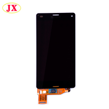 Low price mobile phone Original LCD display for Sony z3 mini Screen Replacement