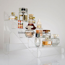 New Style Multistep Acrylic Cosmetic Display Perfume Display Stands