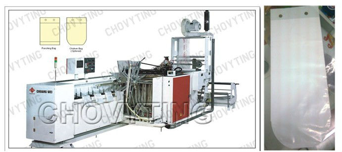 bread bag and chicken bag making machine