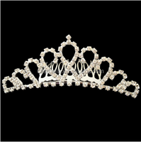 Chic royal crown decoration european fashion bridal headbands jewelry
