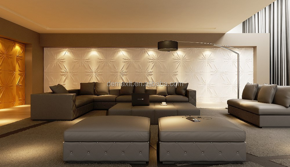 economically and attractively 3d wallpanel/wall panel