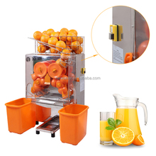 Automatic orange lemon power juicer vending machine commercial