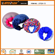 Caterpillar design funny neck microbeads pillow
