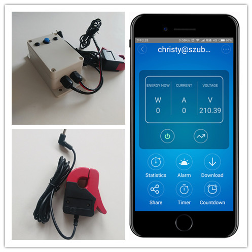 meter electric energy meter wifi electricity monitoring clamp