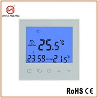 Programmable Digital Thermostat Touch LCD Screen For Room Underfloor Heating Mat
