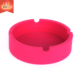 Smokeless fireproof waterproof creative pocket rubber silicone ashtray