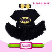 2016 Made in china cute cartoon animal clothes baby girls tutu romper set fashion baby girl rompers with headband