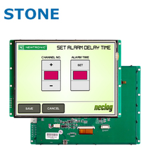 "4.3"" LCD Module to replace HMI + PLC with CE & FCC"