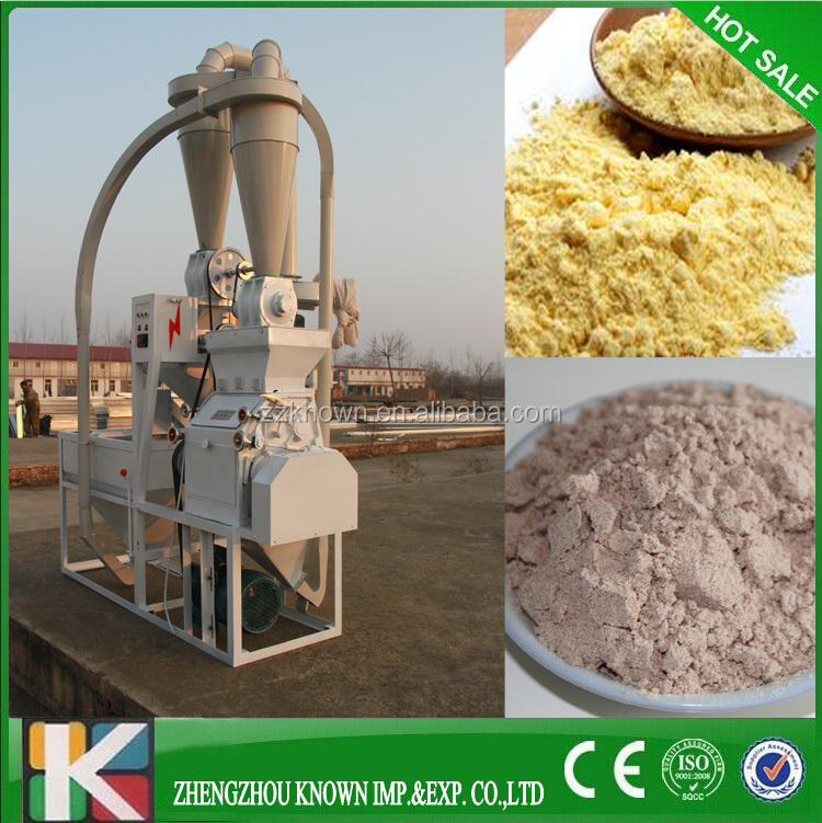 Electric Hot Selling Wheat Flour Mill Machine For Making Bread,Cake,Biscuit Etc