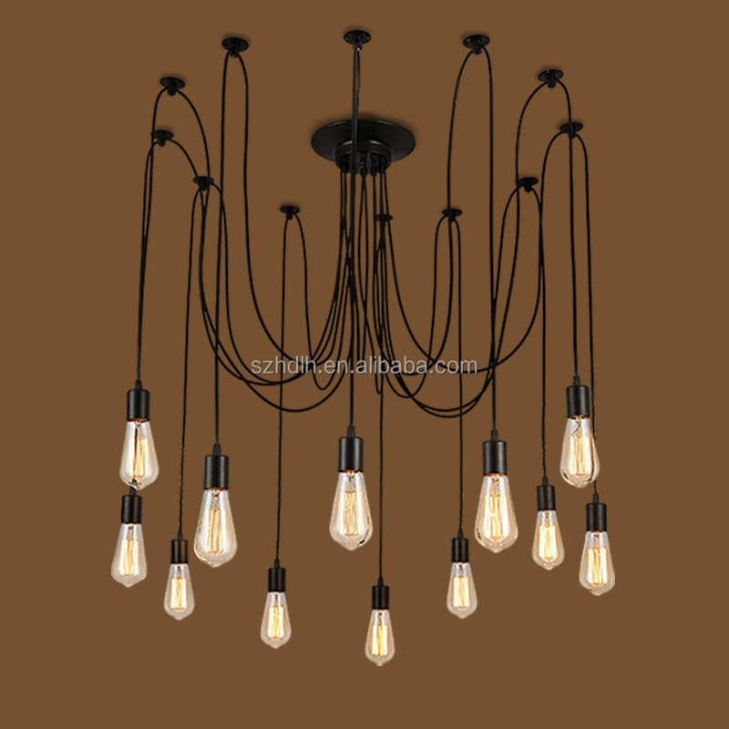 China supplier new style color changing led chandelier indoor lighting lamp led pendant lamp
