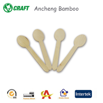 high quality flatware disposable wood spoon for sale