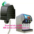 Soda dispenser machine with cornelius valve flaver