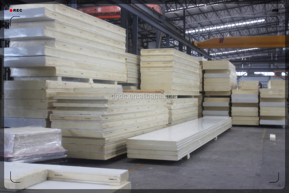 High Density Polyurethane Panels : High density nonflammable pir polyisocyanurate foam panel