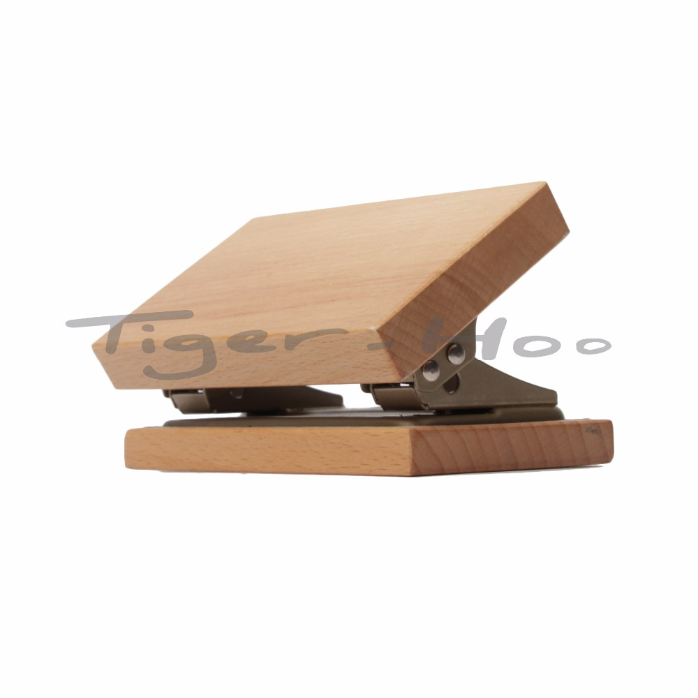 Best Adjustable Wooden Animation Paper Hole Punch
