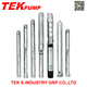 6TS30-7 6 inch Stainless Steel Deep Well Pump Submersible Pump