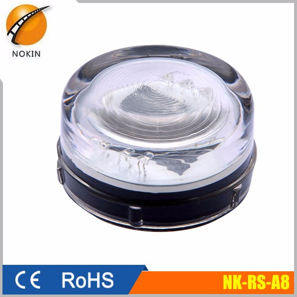 Factory sale 360 degree reflective tempered solar glass road stud