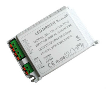 12V 24V 36V 48V constant voltage strip light 70w led driver,triac dimmable 70w led driver