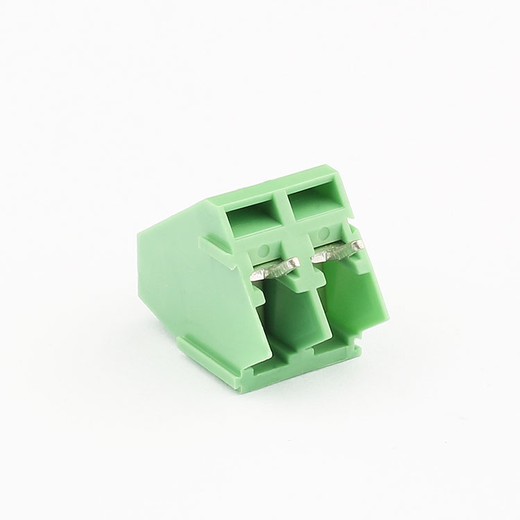 pcb wire pa66 nylon electrical flange terminal connectors