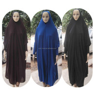 New Style Women Kaftan Muslim Maxi Lycra Maxi Dress prayer clothing Islamic hijab abaya QK017