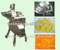 Fruit and vegetable slicing,strip cutting and dicing machine