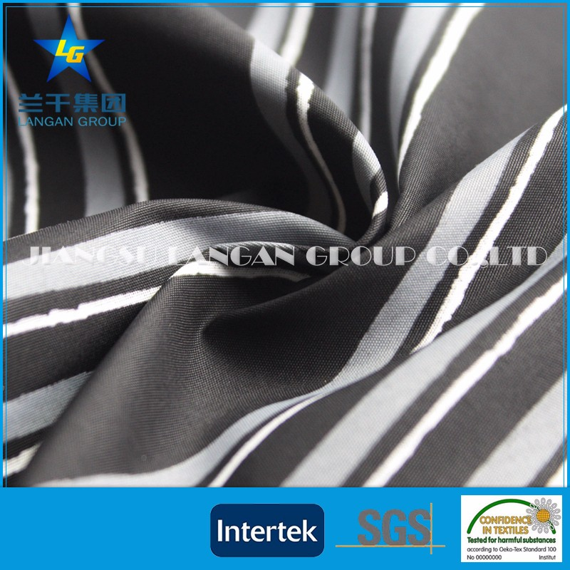 Outdoor Waterproof polyester peach skin fabric