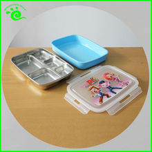 304 Stainless Steel Insulated Lunch Box With Compartments