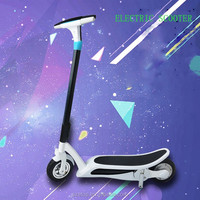 2016 fashion design foldable electric bike New CE model blue tooth radio control electric scooter with LED light and sound
