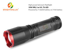 OEM Factory Supply High Light Heavy Duty Metal Led Flashlight Led Torch Light Manufacturers