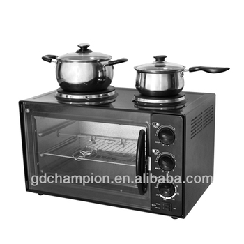 190mm diameter and 155 diameter hot plate 60min timer toaster oven with newest CE certificate
