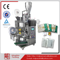 MD168 slim fast green tea in filter paper bag with string & thread production machinery
