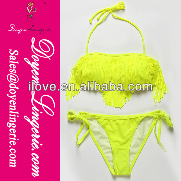 2014 Newest Fashion Latest Sexy Girls Sling Bikini Swimwear