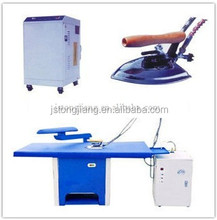 Hotel commercial industrial laundry fully automatic garment clothes steam suction vacuum ironing table board