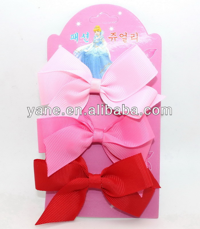 Wholesale hair accessories ribbon bow hair bows