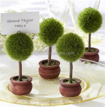100pcs <strong>Wedding</strong> Favor Topiary Tree Photo and Place Card Holder <strong>Wedding</strong> Table Decoration DHL Freeshipping
