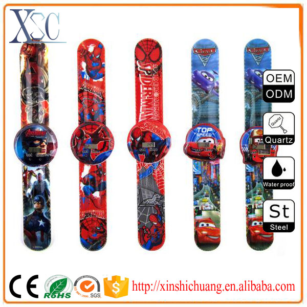 Wholesale different cartoon hot sex watch children,best digital watches small wrists
