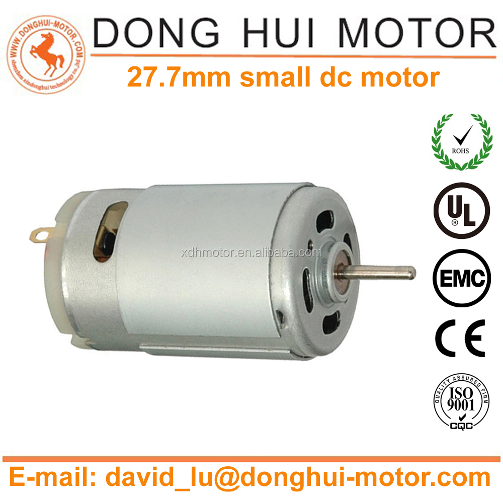 24V DC Foot Bath Micro Motor Also Used in Hair Dryer, Drill/ Screwdriver(RS-395SH-15100R)
