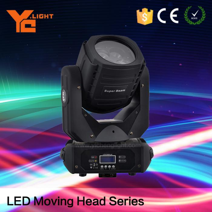 Indoor Light 4 LED Super Beam High Brightness Moving Head Light LED Beam Light