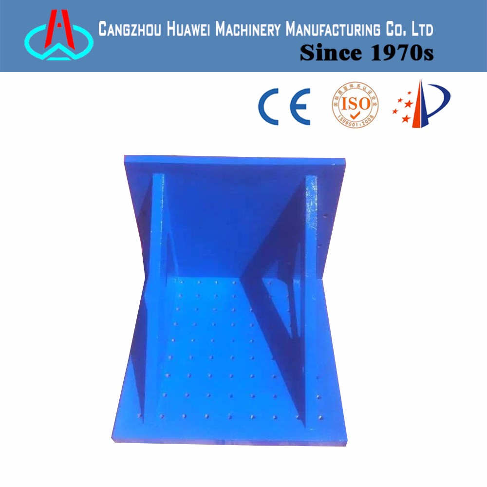 2016 new supply high quality cast iron inspection bending plate angle iron plate