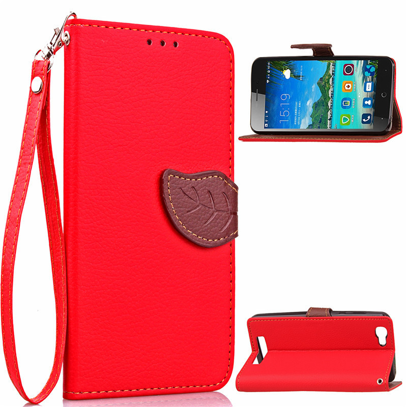 Hot Selling Wholesale Factory Price Mobile Phone Case for ZTE Blade A610 PU Leather Flip Cell Phone Case for ZTE Blade A610