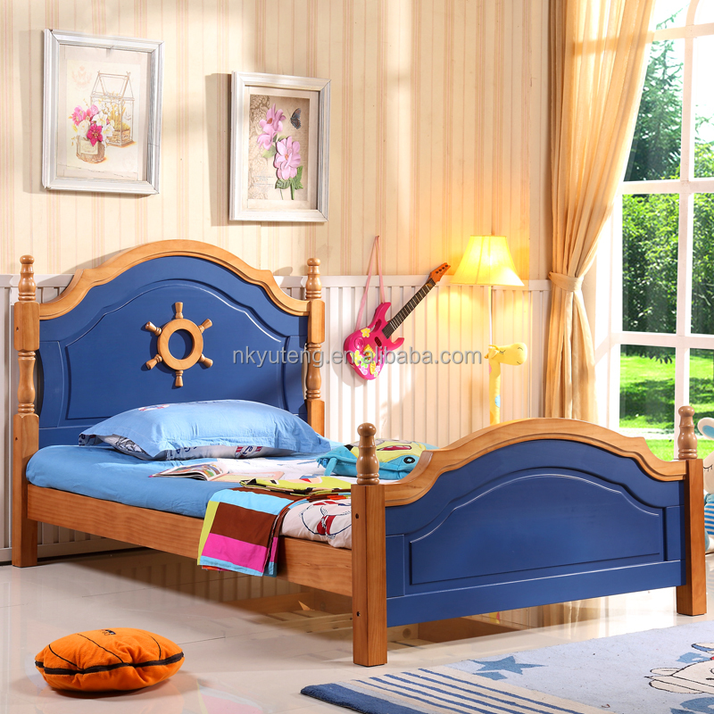 children wooden double bed designs