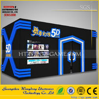 Panyu factory Interactive game 18 seats 5d dynamic cinema well liked in Iraq