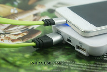 New TPE Charging Data Wire Cord Flat Micro USB Cable For Samsung Xiaomi HTC Android Phones
