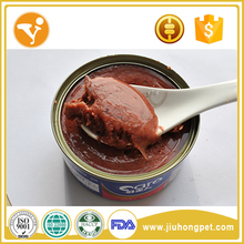 High Quality Pet Food Halal Tuna Meat Snacks Healthy Cat Food