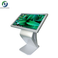 "65"" self-service 10 point touch screen information kiosk with pc"