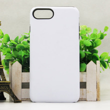 Wholesale 2 in 1TPU+PC 3D Sublimation Phone Case For iPhone 7 Plus, For Apple iPhone 7 Plus Case