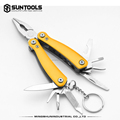 Mini Functional Outdoor stainless steel hand tools combination pliers with keychain