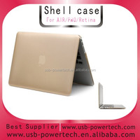 "2014 golden COMPUTER cover for MACBOOK AIR 13.3"" SHELL COVER CASE"