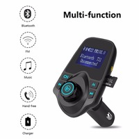 Wholesale T11 Handfree Dual USB Car Charger A2DP Bluetooth Handsfree