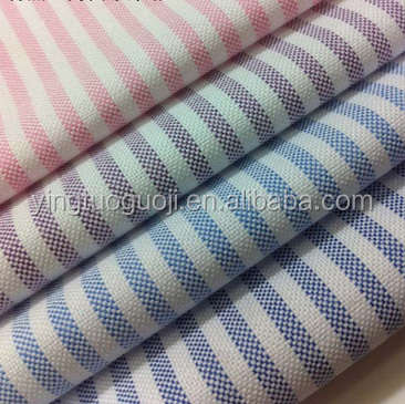 high density manufactory yarn dyed shirt cotton fabric